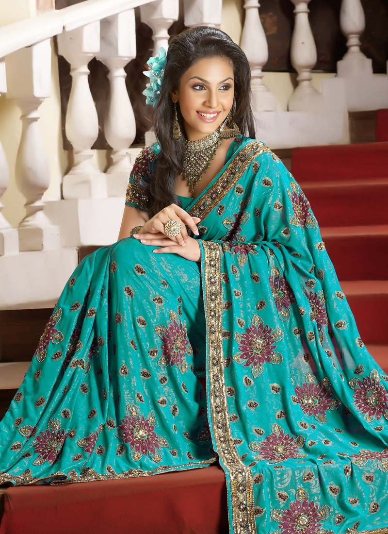 Wedding Girl Wallpaper Fashen Cute Sarees For Cute Girls