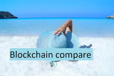compare blockchain