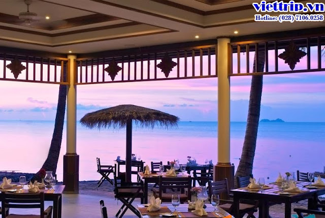 Nhà hàng View biển đầy lãng mạn