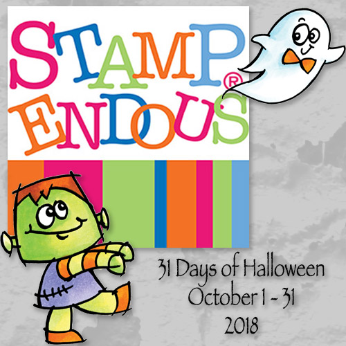 31 DAYS OF HALLOWEEN AT STAMPENDOUS!