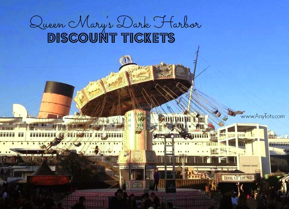 Queen Mary Dark Harbor Tickets 14 40 Things To Do In Long Beach This