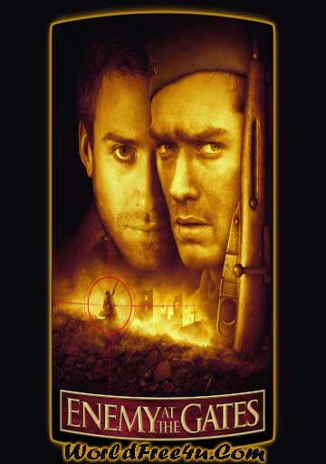 Poster Of Enemy at the Gates (2001) Full Movie Hindi Dubbed Free Download Watch Online At worldfree4u.com