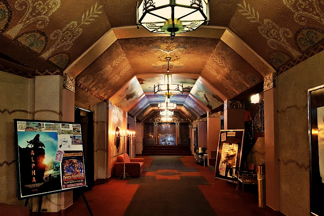 The main hall of the Washoe Theatre...
