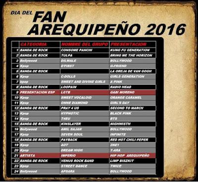 Día del fan arequipeño