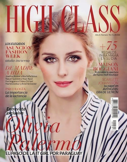 Olivia Palermo For High Class Magazine