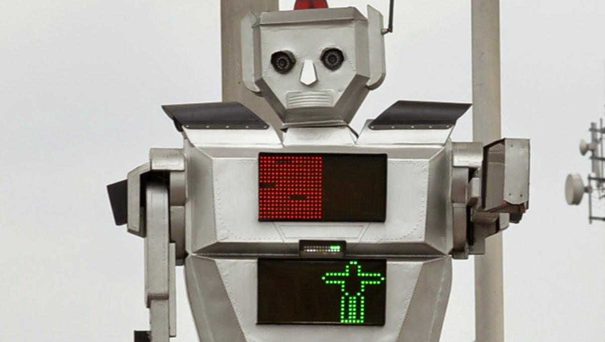 روبوت» يسير المرور في مدينة أفريقية,ISTA,,CDR, Congolese engineer, Isaie Therese, ISTA, kinshasa, lubumbashi, police, RDC, Robot para dirigir el transito, Women Technologies