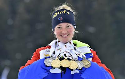 BIATLÓN - Mundial femenino 2016 (Oslo, Noruega): pleno de podios para Marie Dorin-Habert