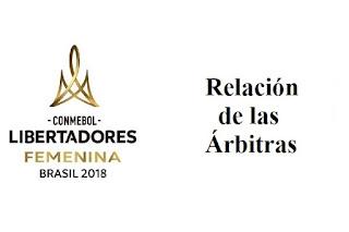 arbitros-futbol-libertadores-femenino-relacion
