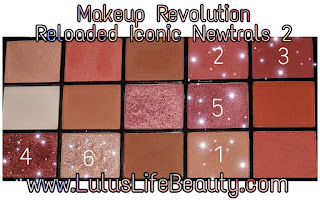 Makeup Revolution Iconic Newtrals 2
