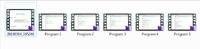 Setelah Sobat klik Ctrl+F10 untuk mengakhiri proses perekaman, otomatis file sudah tersimpan dan Sobat tinggal mencari filenya di folder yang sudah Sobat tentukan saat menginstal software Apowersoft Free Screen Recorder.