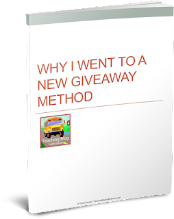 I have been blogging since 2011. I have hosted over 75 giveaways in that time. Find out why I am changing things up. Download a 9-page full case study too!