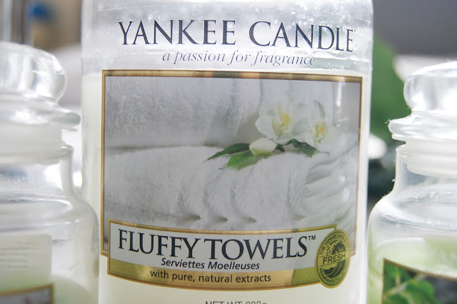 Fluffy Towels Yankee Candle
