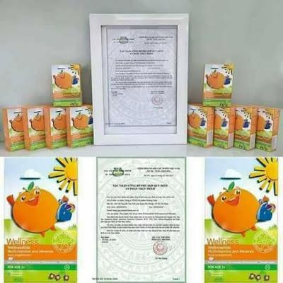 Thực Phẩm Tăng Chiều Cao Và Hỗ Trợ Cho Trẻ Biếng Ăn WellnessKids  1
