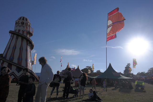 Camp Bestival - Getting There from Ireland.