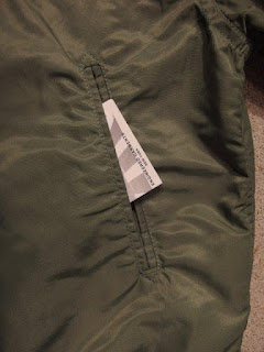 "Engineered Garments ""Aviator Jacket - Flight Sateen"""