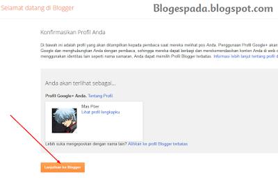 Cara membuat Blog Gratis (Blogspot) di Blogger 4