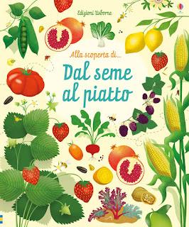 libri per bambini su semi e frutta