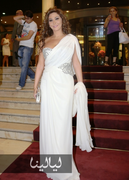 FASHIONALYSED: Fashion at the Murex D'Or 2013 Elissa Dresses In X Factor