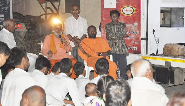 gurukul-prachar-rath-awareness-programme-village-dadasiya-faridabad