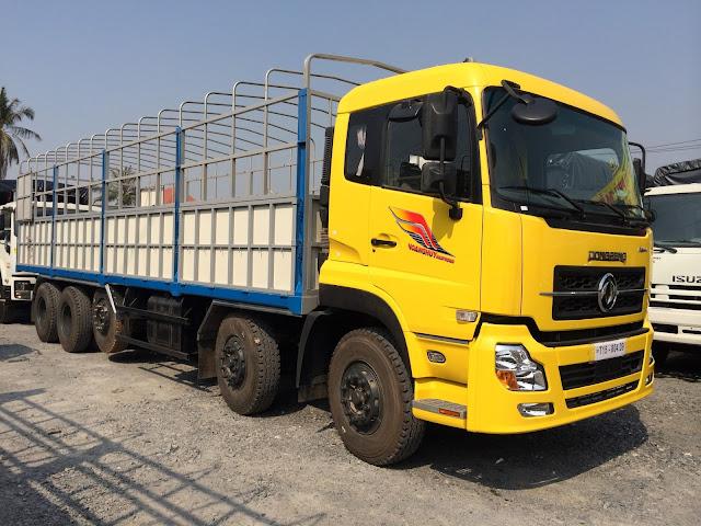 Thông số xe tải thùng 13 tấn