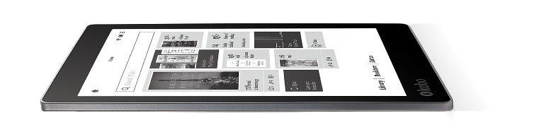 Czytnik Kobo Aura One z regulacją podświetlwnia i ekranem 7,8 cala