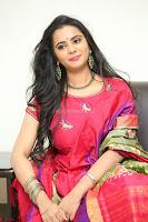 Manasa in Pink Salwar At Fashion Designer Son of Ladies Tailor Press Meet Pics ~  Exclusive 50.JPG