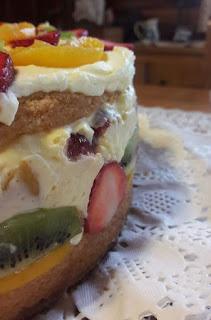 Torta Mousse de Frutas