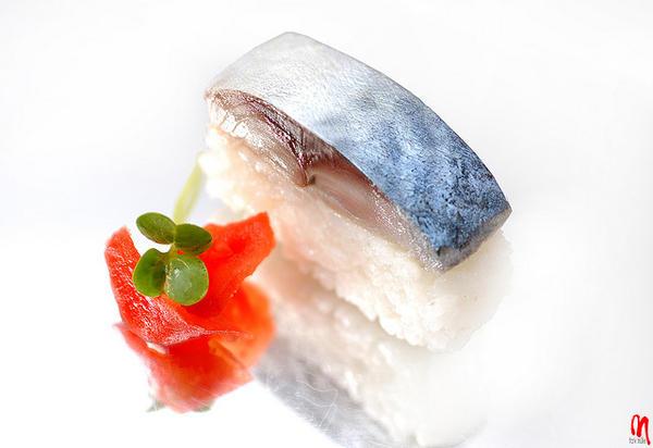 101 เมนูซูชิ ซูชิหน้าปลาซาบะ (Saba)