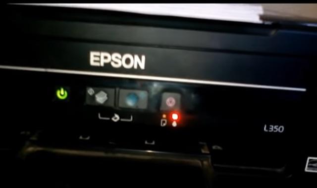 Cara Mengatasi Printer Epson L350 Tidak Bisa Print