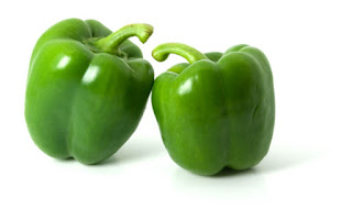 Green peppers for Healthy