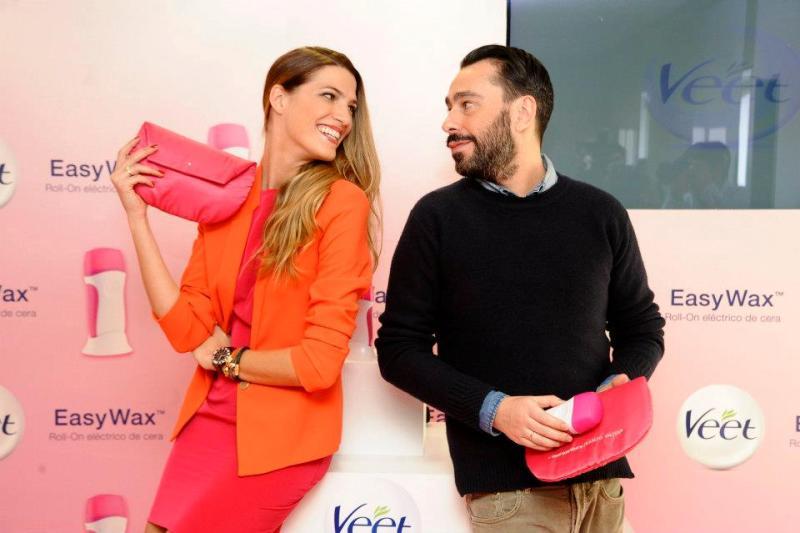 Veet Easy Wax & Juanjo Oliva