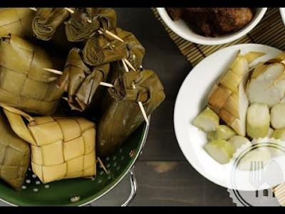 makanan khas lebaran ketupat