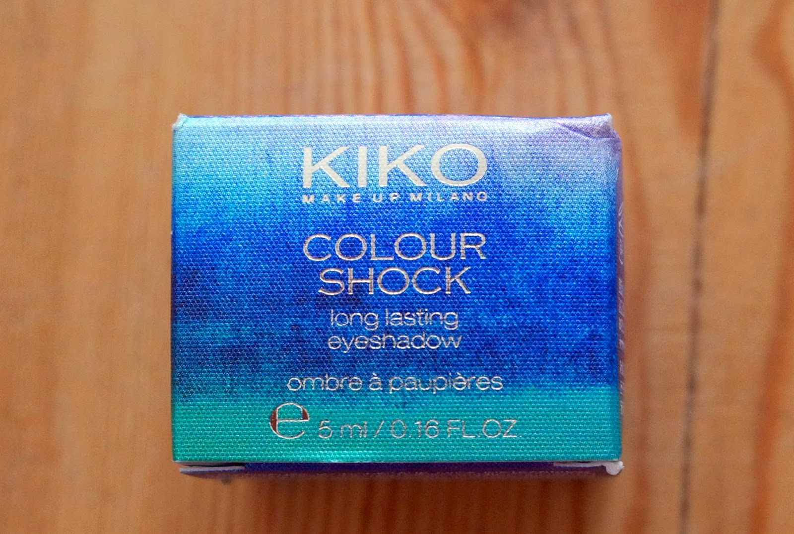 Kiko Colour Shock Eyeshadow
