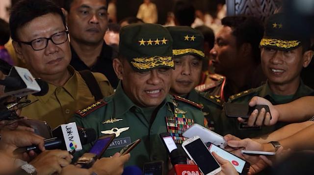 Ini Transkrip Rekaman Panglima TNI Sebut Akan Ada 5 Ribu Senjata Masuk Secara Ilegal