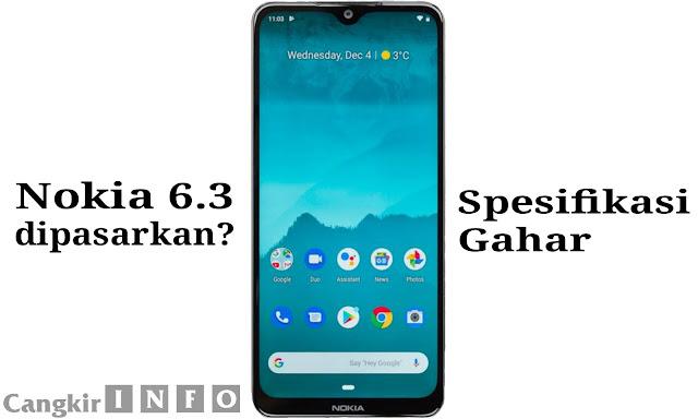 Harga dan Spesifikasi Nokia 6.3