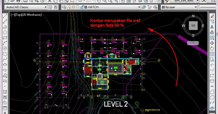 AutoCAD Tutorial: Cara Mengatur Tampilan Xref Fade Control ...