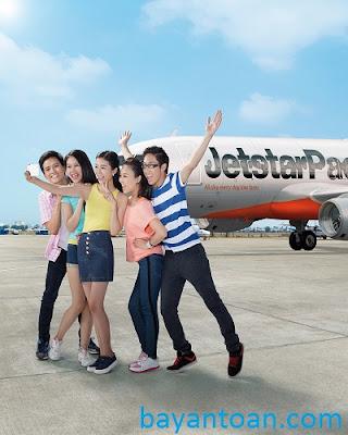 Hành khách đi Jetstar Pacific được thay đổi ngày miễn phí