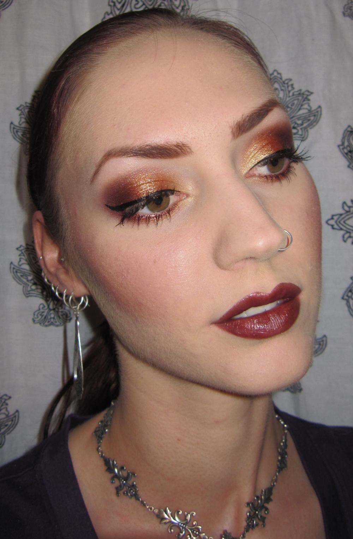 Glitter Is My Crack...: Smoldering Fall Eye Makeup Tutorial
