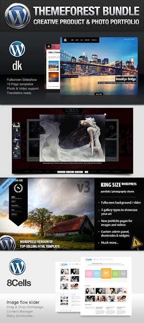ThemeForest Bundle: Creative Portfolio Wordpress Themes