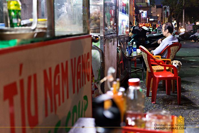Ho Chi Minh Pham Ngu Lao Street Hawkers