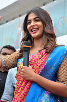 Puja Hegde looks stunning in Red saree at launch of Anutex shopping mall ~ Celebrities Galleries 124.JPG