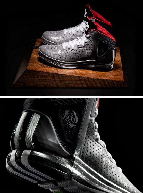 "THE SNEAKER ADDICT: adidas Derrick Rose ""DRose 4.0"" Home + Away Sneakers (First Full Look ..."