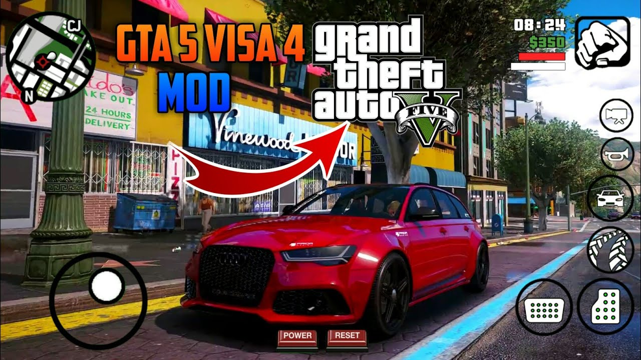 GTA 5 4K GRAPHICS MODPACK FOR GTA SA ANDROID ~ MrGamerYT