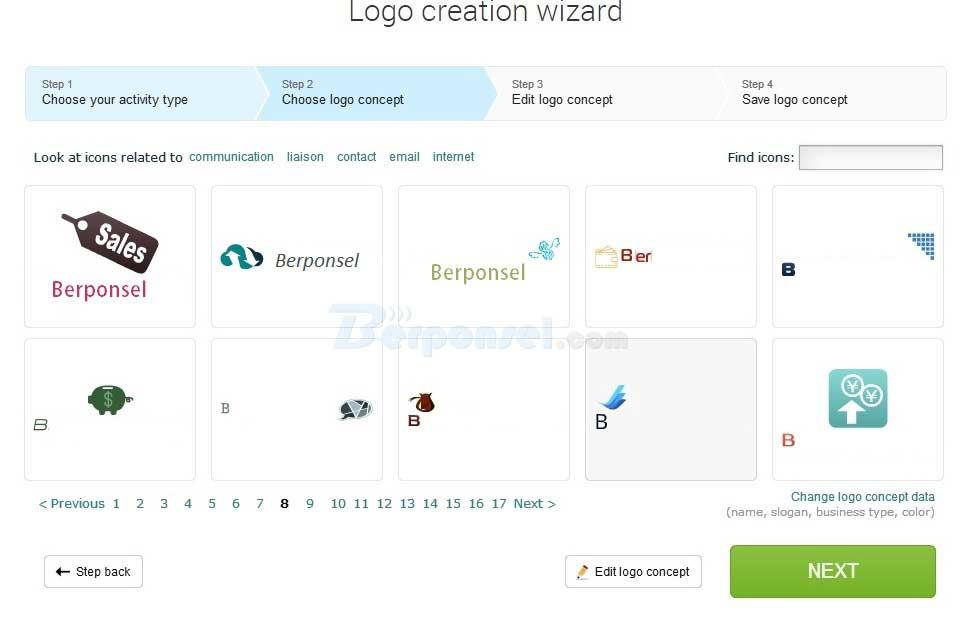 Logaster, Situs Pembuat Logo Gratis Secara Online