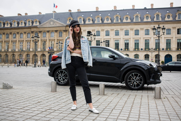 place Vendôme, 48 hours in Paris with Toyota CHR