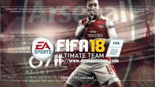 FTS Mod FIFA 18 Ultimate Remod by Kikok Continue