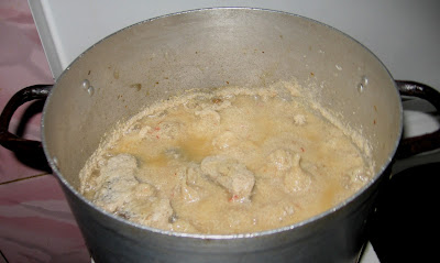 Cooking egusi (melon) soup with step by step photos 02