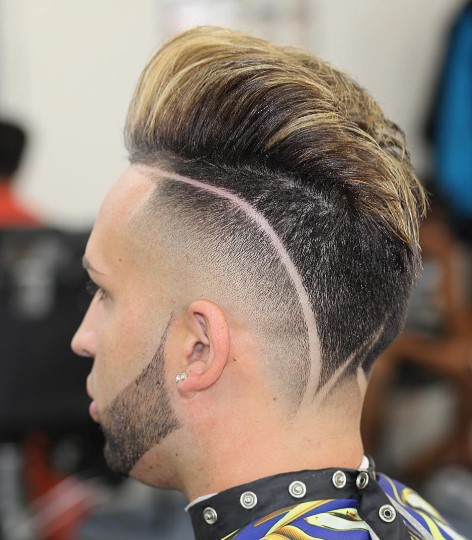 Undercut slick back