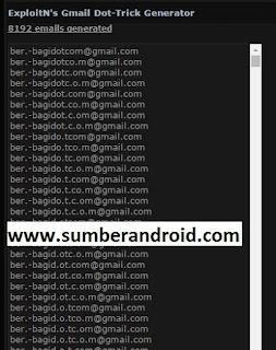 Cara Mudah buat email ribuan