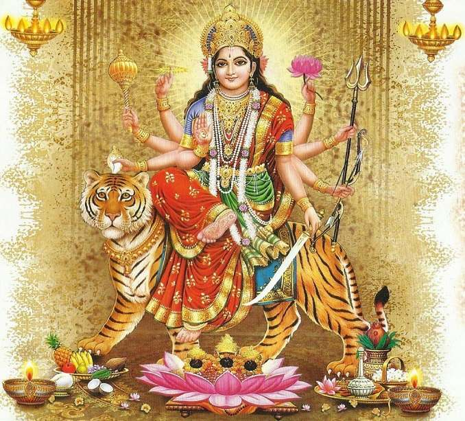 Beautiful Image Of Maa Durga